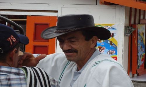 Zdjęcie KOLUMBIA / Quindio / Salento / Colectivo do Cocory