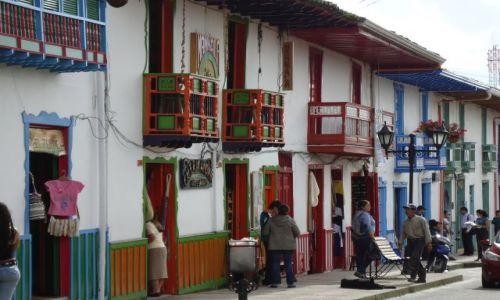 Zdjecie KOLUMBIA / Quindio / Salento / Kolory Salento