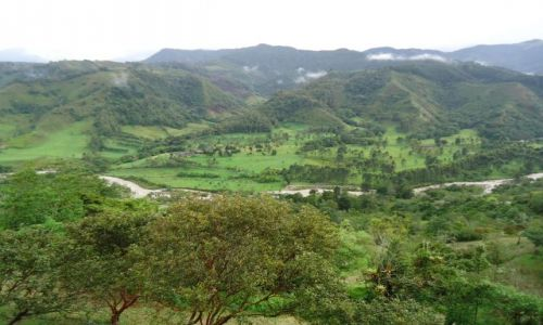 Zdjęcie KOLUMBIA / Quindio / Salento / Panorama