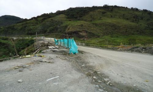 Zdjęcie KOLUMBIA / Cauca / droga Tierradentro - Popayan / Kolumbijskie drogi (2)