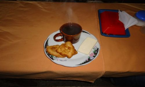 Zdjecie KOLUMBIA / Cauca / droga Tierradentro - Popayan / Posiłek