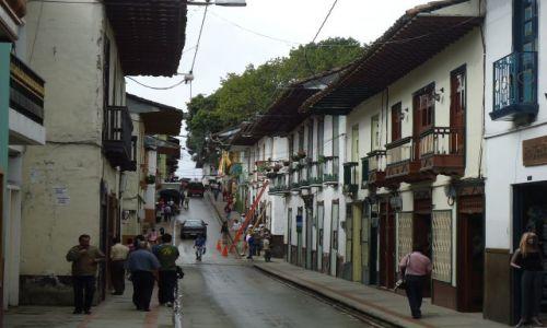 Zdjęcie KOLUMBIA / Caldas / Salamina / Ulice Salaminy (1)