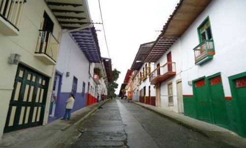 Zdjęcie KOLUMBIA / Caldas / Salamina / Kolory Salaminy