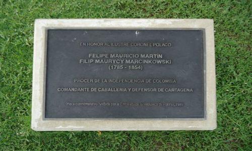 Zdjecie KOLUMBIA / Bolivar / Cartagena / Polonica w Cartagenie
