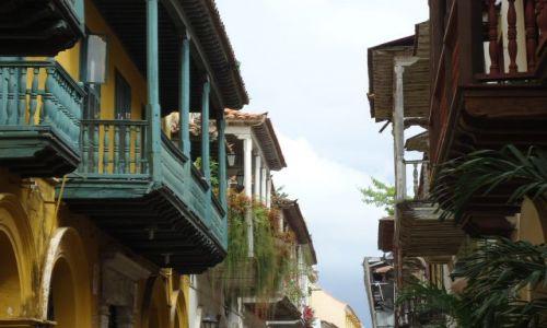 Zdjecie KOLUMBIA / Bolivar / Cartagena / Balkony