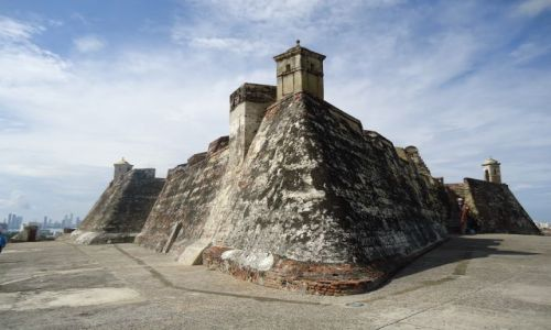 KOLUMBIA / Bolivar / Cartagena / Fort