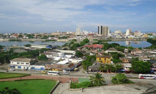 Zdjęcie KOLUMBIA / Bolivar / Cartagena / Panorama Cartageny