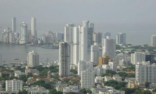 Zdjęcie KOLUMBIA / Bolivar / Cartagena / Nowoczesna Cartagena
