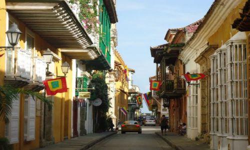 Zdjęcie KOLUMBIA / Bolivar / Cartagena / Uliczka