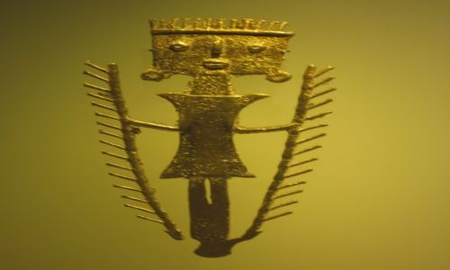 KOLUMBIA / Bogota / Museo del Oro / muzeum złota II