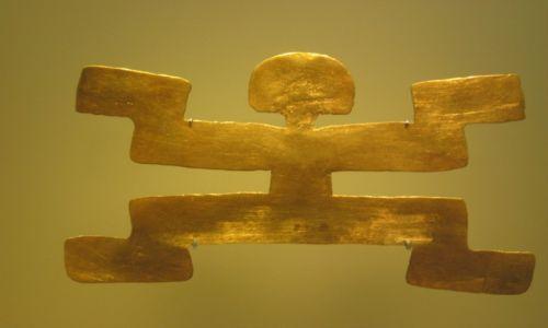 Zdjecie KOLUMBIA / Bogota / Museo del Oro / muzeum złota III