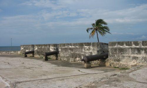 KOLUMBIA / - / Kartagena / fort w Kartagenie