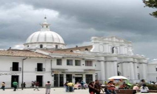 KOLUMBIA / Popayán  / Popayán  / Katedra w Popayán