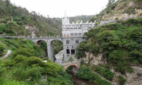 Zdjecie KOLUMBIA / Ipiales / kanion rzeki Guaitara / Bazylika Las Lajas