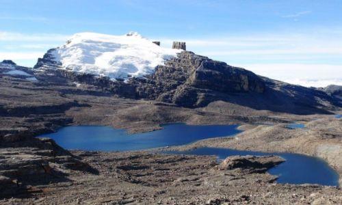 KOLUMBIA / Sierra Nevada del Cocuy / Sierra Nevada del Cocuy / Morenowe jeziora