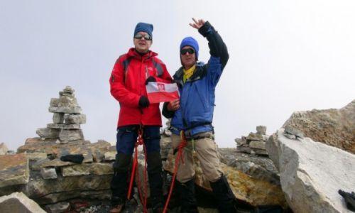 Zdjecie KOLUMBIA / Sierra Nevada del Cocuy / Sierra Nevada del Cocuy / M.Kwapich i Ed Bochnak na szczycieToti