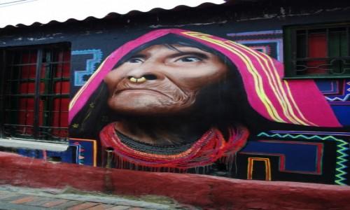 Zdjecie KOLUMBIA / Bogota D.C. / Bogota / Indigena