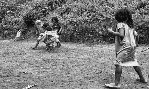 Zdjecie KOLUMBIA / Sierra Nevada / Teyuna / zabawa w dżungl