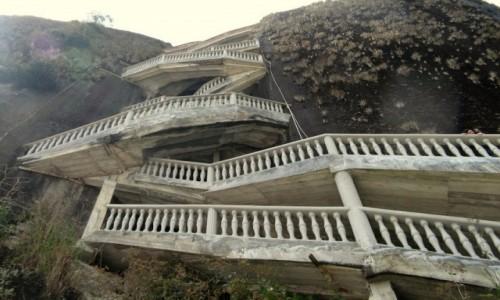 Zdjęcie KOLUMBIA / Antioquia / Guatapé / El Peñol - schody