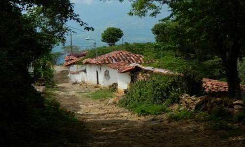 Zdjecie KOLUMBIA / Santander / miasteczko Guane / Guane