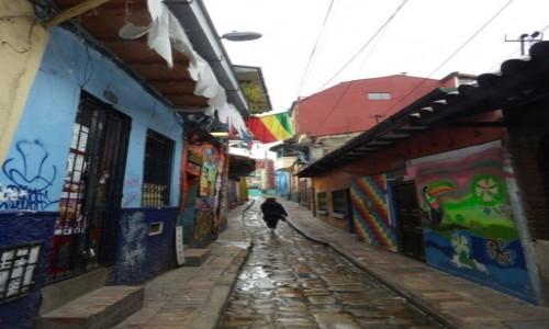 Zdjecie KOLUMBIA / Bogota / Bogota / Uliczka