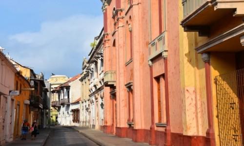 Zdjecie KOLUMBIA / wybrzeże / Cartagena de Indias / Stare miasto w Cartagenie de Indias