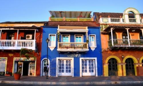 Zdjęcie KOLUMBIA / Cartagena de Indias / Getsemani / Ulica nadbrzeżna
