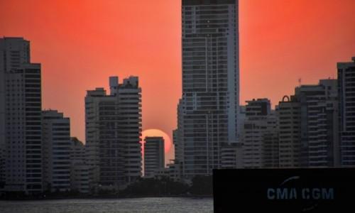 Zdjecie KOLUMBIA / Cartagena de Indias / W porcie / Czas odpływać