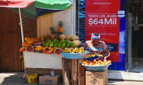 KOLUMBIA / Cartagena de Indias / Ciudad Amurallada / Na straganie