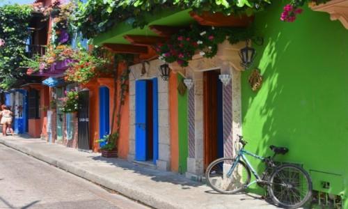 Zdjecie KOLUMBIA / Cartagena de Indias / Ciudad Amurallada / Kolory starej Kartageny