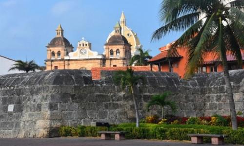 Zdjecie KOLUMBIA / Cartagena de Indias / Stare miasto / Miasto za Murami
