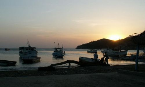 Zdjecie KOLUMBIA / Santa Marta / brak / kolumbijscy rybacy