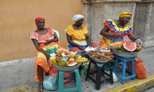 Zdjęcie KOLUMBIA / Cartagena / Cartagena / lokalne specjały
