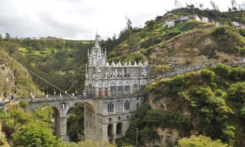 Zdjecie KOLUMBIA / Południowa Kolumbia / Ipiales / Sanktuarium Las Lajas