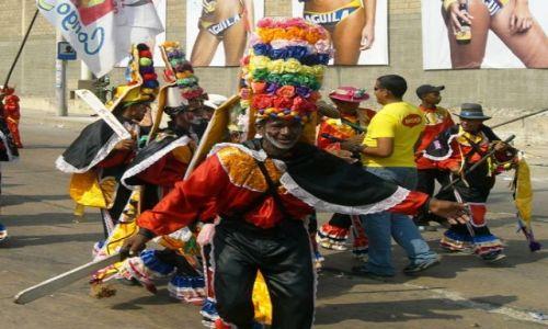 Zdjęcie KOLUMBIA / Wybrzeze Morza Karaibskiego / Barranquilla / Gran parada de la tradición 2