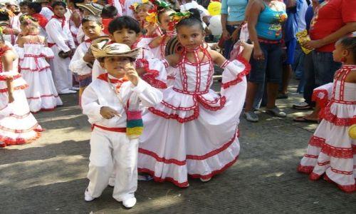 Zdjecie KOLUMBIA / Wybrzeze Morza Karaibskiego / Barranquilla / Carnaval de los niños 2
