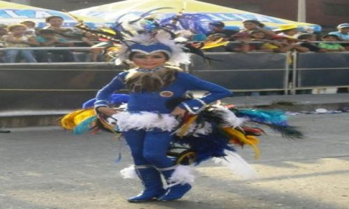 Zdjecie KOLUMBIA / Wybrzeze Morza Karaibskiego / Barranquilla / Carnaval de los niños 3