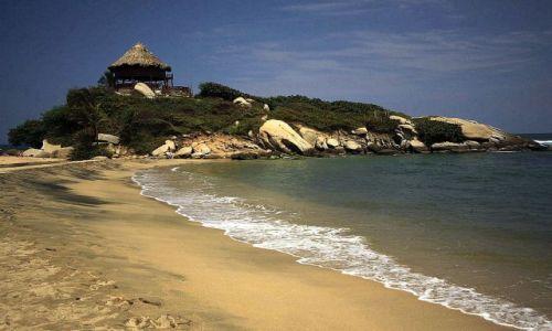 Zdjęcie KOLUMBIA / płn Kolumbia / Tayrona / Jedna z plaż...