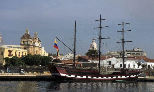 Zdjęcie KOLUMBIA / płn Kolumbia / Cartagena / Port