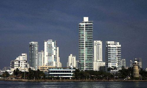Zdjęcie KOLUMBIA / płn Kolumbia / Cartagena / Bahia de las Animas (Bocagrande)