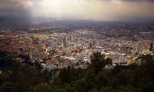 Zdjecie KOLUMBIA / Bogota / Bogota / Panorama Bogoty