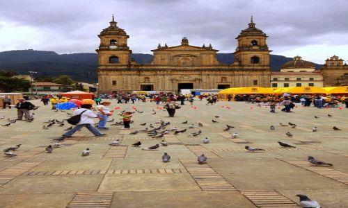 Zdjęcie KOLUMBIA / Bogota / Bogota / Plac Bolivara