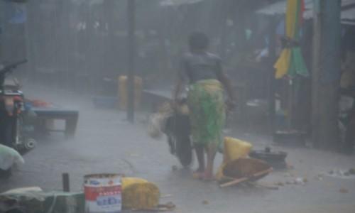 Zdjęcie KONGO / Plateaux / Gamboma / Kiedy pada deszcz