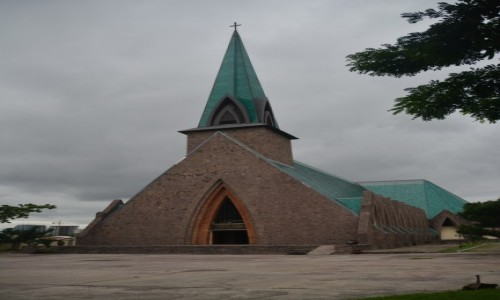 Zdjecie KONGO / Pool / Brazzaville / Bazylika Świętej Anny