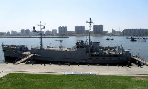Zdjęcie KOREA PÓŁNOCNA / AZJA / PHENIAN / USS PUEBLO - AMERYKANSKI OKRET SZPIEGOWSKI - ZLAPANY PRZEZ KOREE POLNOCNA !