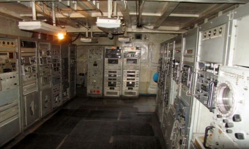 Zdjęcie KOREA PÓŁNOCNA / AZJA / PHENIAN / Wewnatrz USS Pueblo...- okret szpiegowski przejety przez Koree Polnocna