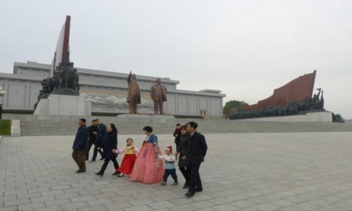 KOREA PÓŁNOCNA / Pyongyang / Pyongyang / Sześćdziesiątka