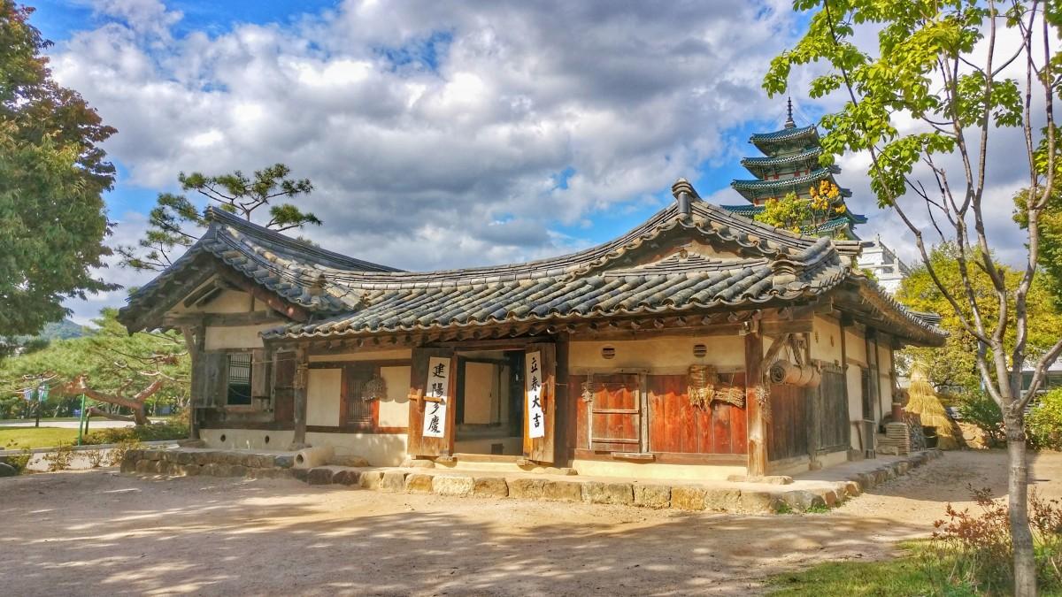 Zdjęcia: The National Folk Museum of Korea, Seul, Sielsko..., KOREA POŁUDNIOWA