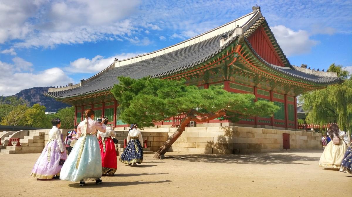 Zdjęcia: Gyeongbokgung, Seul, Koreańskie klimaty..., KOREA POŁUDNIOWA
