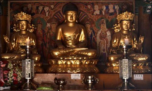 Zdjęcie KOREA POŁUDNIOWA / - / Oeosa / w świątyni